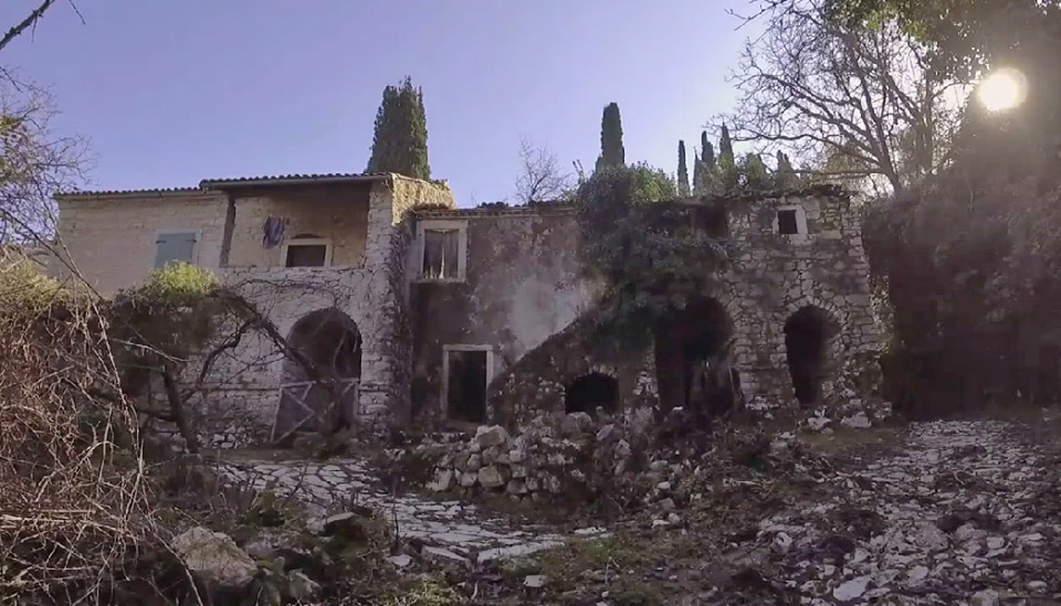 Palia Perithia is the most ancient village of Kerkyra (photo: Athens and Macedonian News Agency).