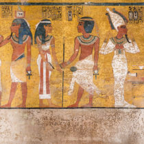Conservation of Tutankhamun's Tomb completed