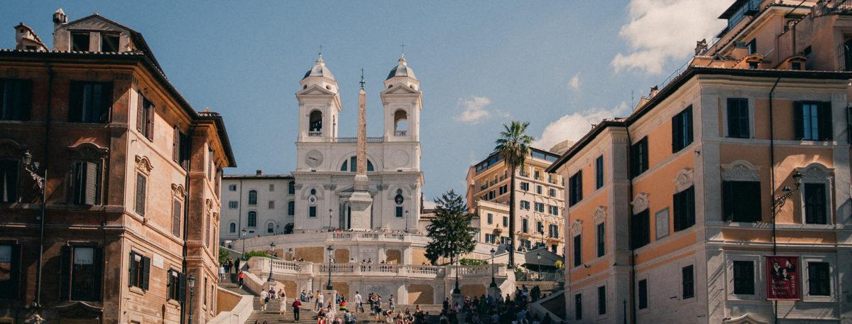 Piazza di Spagna, Rome.