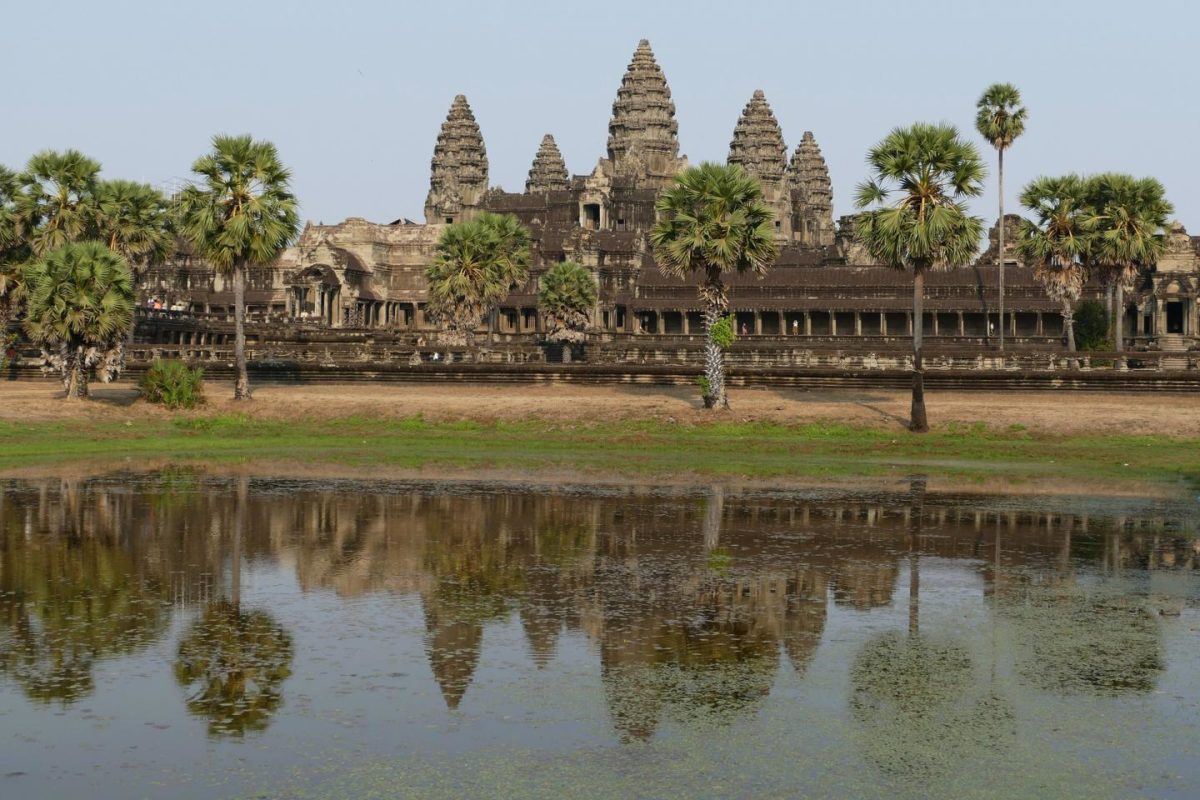 The ancient city of Angkor, Cambodia. Credit: The University of Sydney