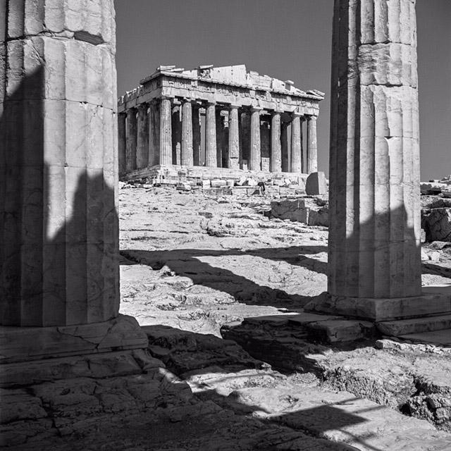 The Parthenon. Photograph by Robert McCabe.