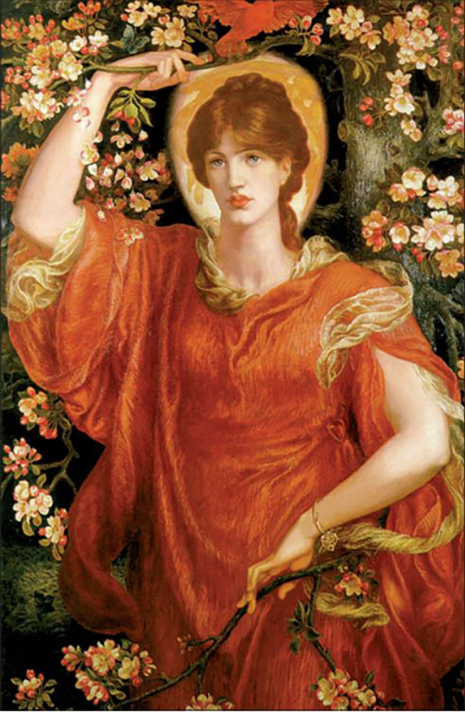 The ideal Pre-Raphaelite beauty was Greek…and an artist in her own right!
