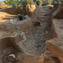 Researchers have found an Etruscan tomb in Corsica
