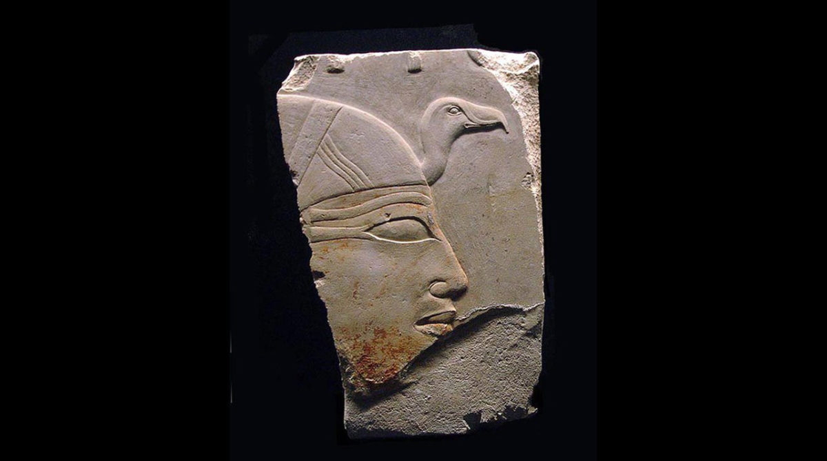 Profile of queen Ankhnespepy II of Egypt from her funerary temple. Credit: Juan R. Lazaro/Wikimedia