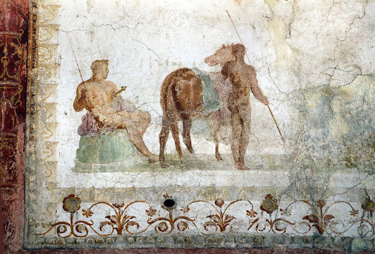 Fresco from the Domus Transitoria (photo: Wikipedia).