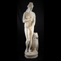 "A statue that ""dreamed″ of becoming the Aphrodite of Knidos"