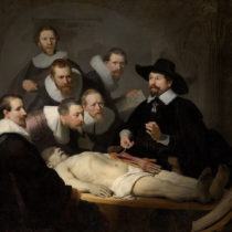 Inside a Rembrandt painting