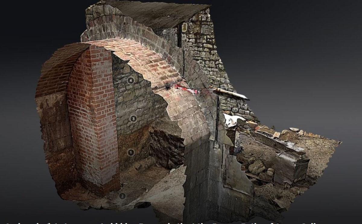 Period 2 bath, Roman Baths. Credit: Cotswold Archaeology