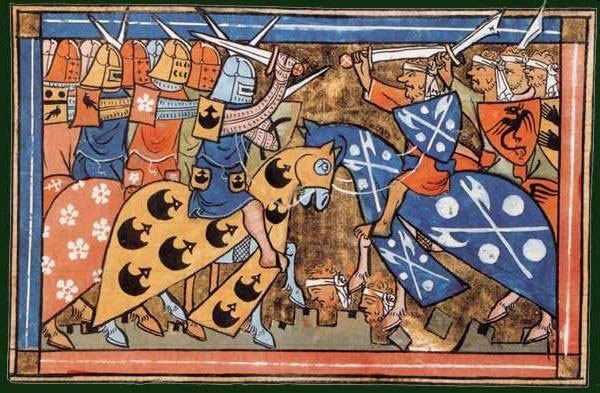 A battle of the Second Crusade.