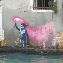 New graffiti by Banksy may have been found in Venice