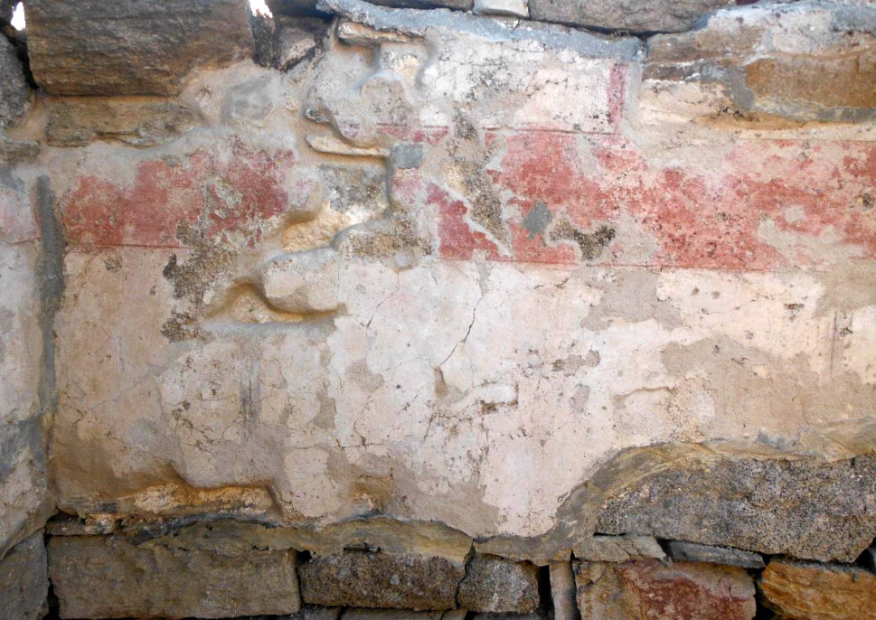 Conservation of frescoes in 2018: after the works (photo: Ministry of Culture and Sports).