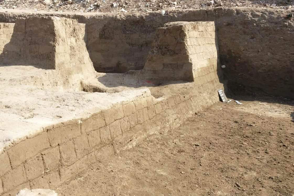 An Egyptian-German mission working in a Cairo neighbourhood has uncovered numerous findings after this season's excavations. Photo Credit: Egypt. Ministry of Antiquities/TANN.