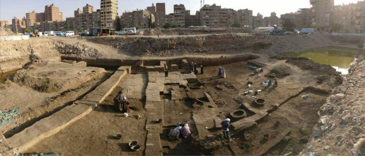 An Egyptian-German mission working in a Cairo neighbourhood has uncovered numerous findings after this season's excavations.Photo Credit: Egypt. Ministry of Antiquities/TANN.