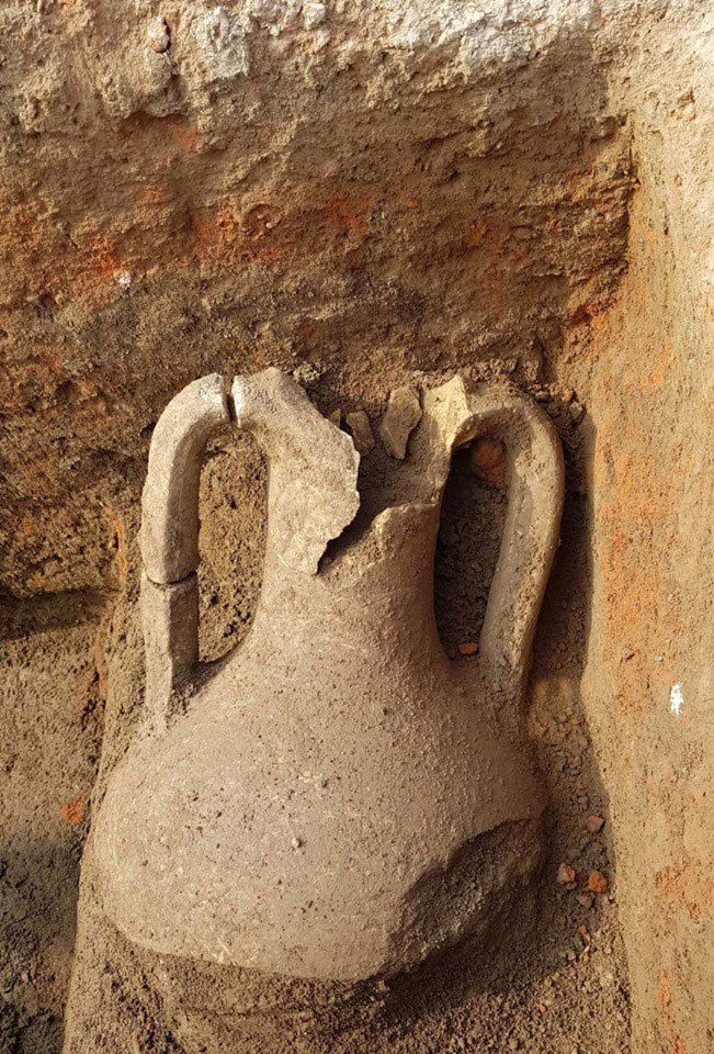 Many artefacts were also unearthed. Photo Credit: Egypt. Ministry of Antiquities/TANN.