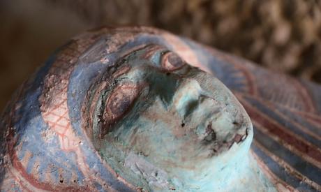 Upper part of a sarcophagus.