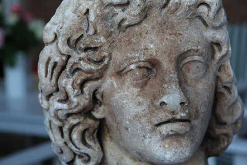 The Roman head returned to Italy this week. Photo Credit: Ministero per i beni e le attività culturali/The Local.