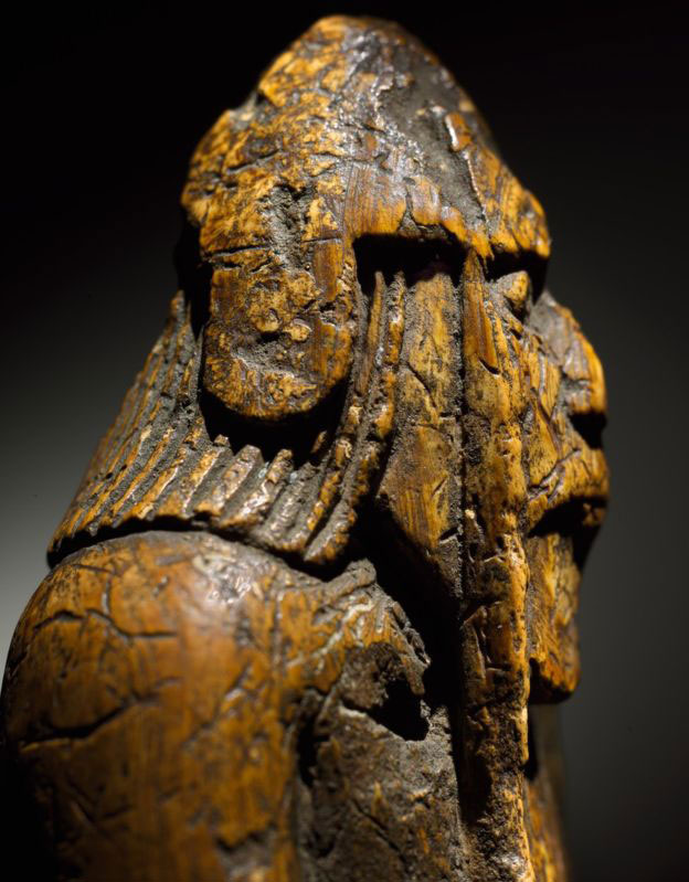 The chessmen are thought to have been made in Scandinavia, possibly Norway. Photo Credit: Sotheby's/BBC.