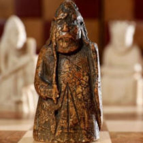 Rare chess piece was kept by a family for over 150 years