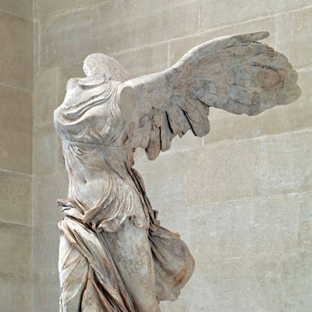 Nike of Samothrace, Paris, Louvre.