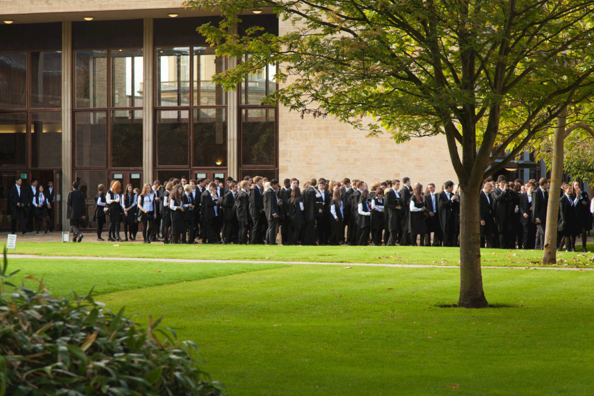 St Anne's College, one of the largest Colleges in the University of Oxford, with around 770 students.