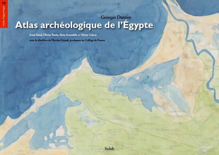 Atlas archéologique de l'Égypte is now online