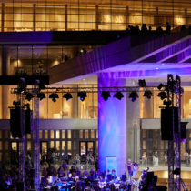 A musical evening on August Full Moon at the Acropolis Museum