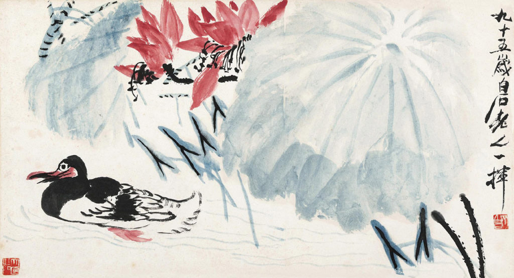 Painting by Qi Baishi (photo: comuseum.com)
