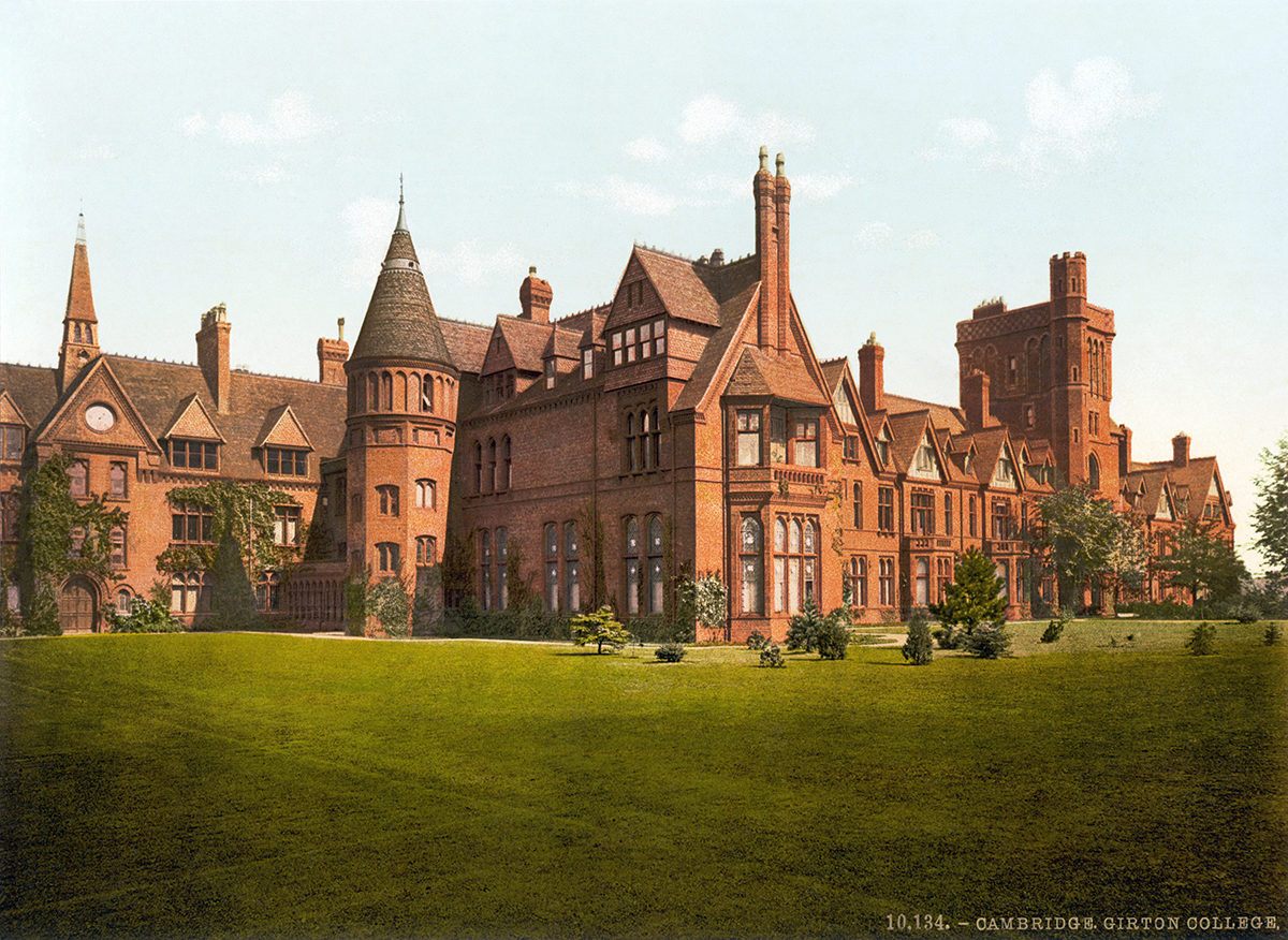 Girton College.