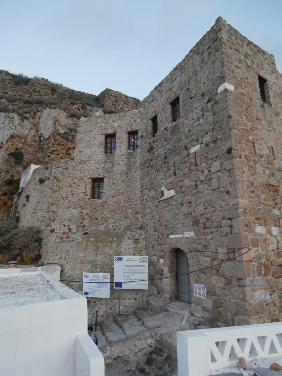 The entrance to Skyros Castle (photo: Wikipedia).