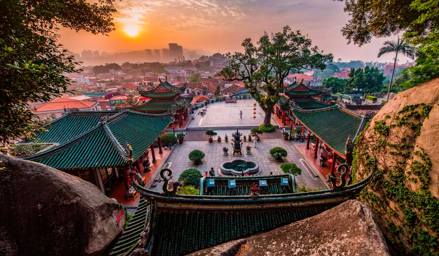 Kulangsu, a Historic International Settlement World Heritage site (China). © Cultural Heritage Conservation Center of THAD / Qian Yi