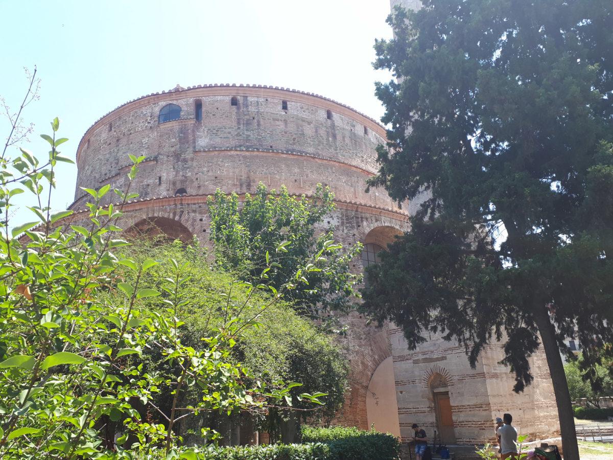 The Rotunda in Thessaloniki (photo: AMNA).