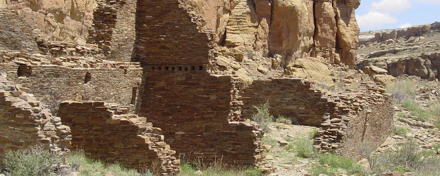 The Hungo Pavi great house in Chaco Canyon. Credit: National Park Service.