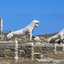 Delos threatened by impact of climate change