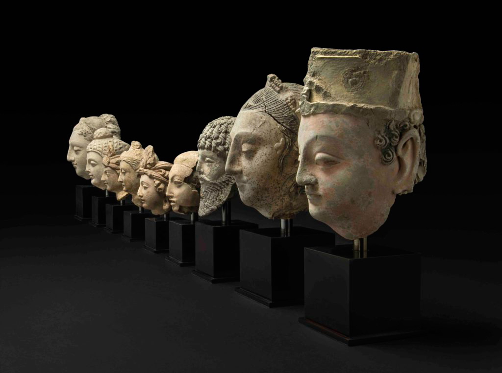 Gandharan objects that will be returned to the National Museum of Afghanistan in Kabul. © Trustees of the British Museum.