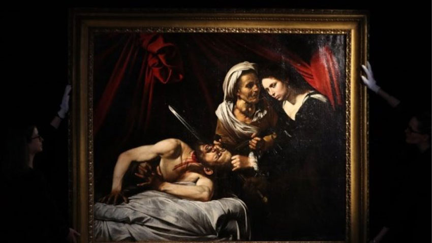 """The painting """"Judith and Holofernes"""" by Caravaggio."""