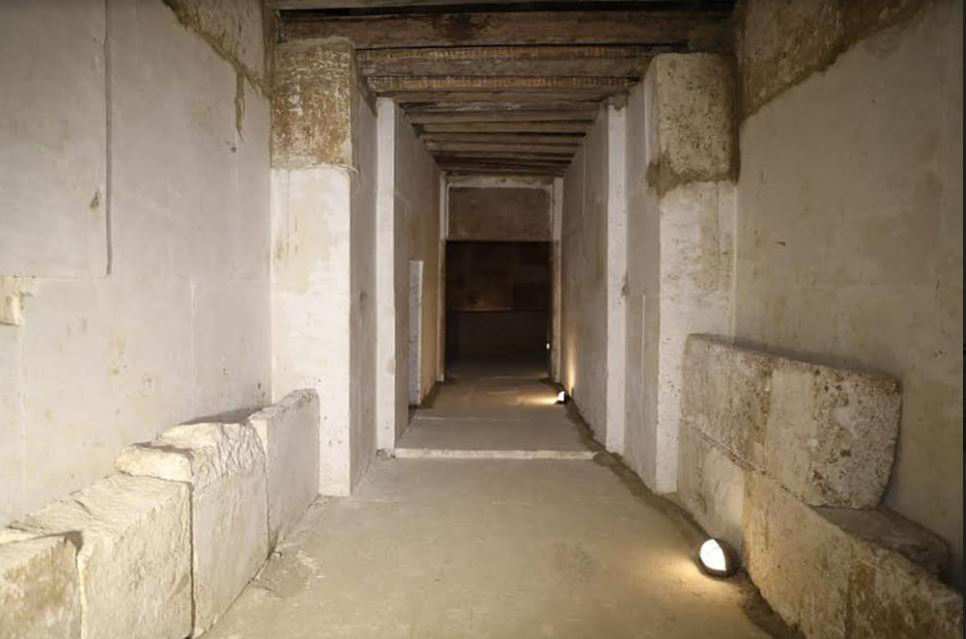 Major restoration works have been completed at El-Lahun pyramid.