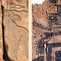 The colour blue in ancient Egypt and Sudan