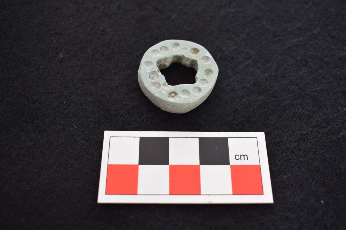 Middle Bronze Age stone pendant.