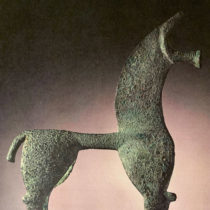 Ministry of Culture reclaims a bronze horse statuette