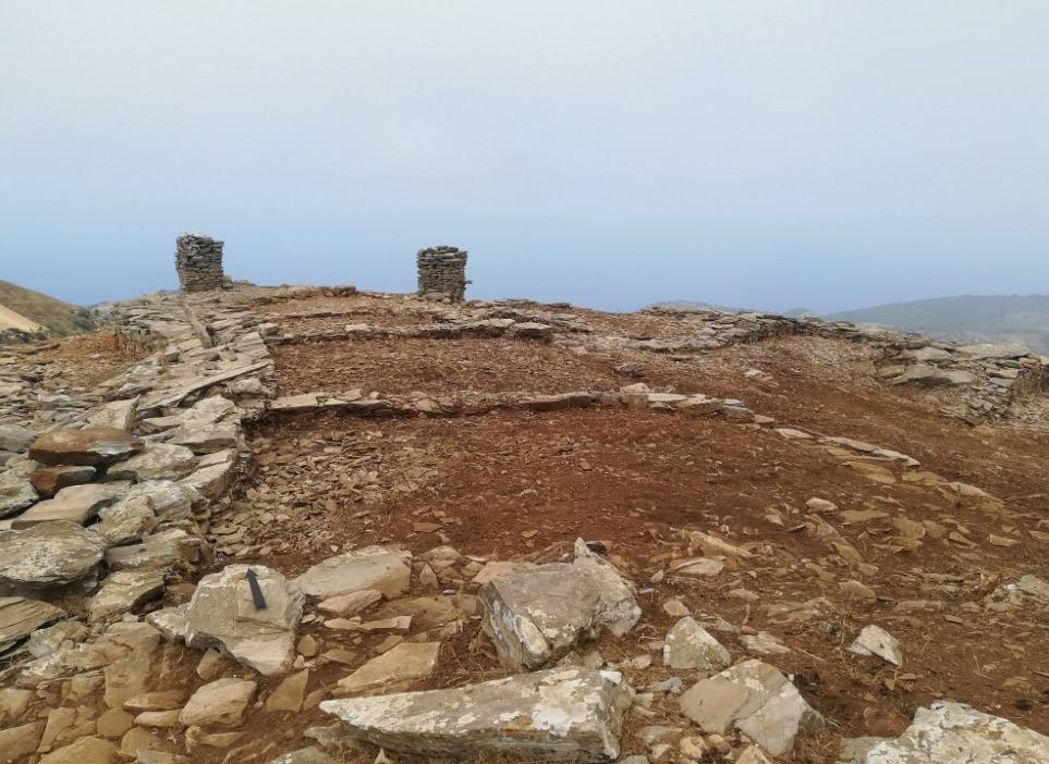 The settlement found at the site of Pyrgari-Dardiza (photo: Ministry of Culture and Sports)