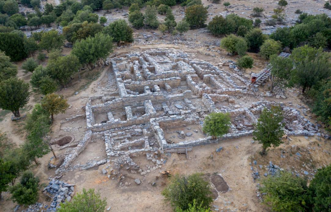 Fig. 2. View of the excavation at Zominthos (photo: Ministry of Culture).
