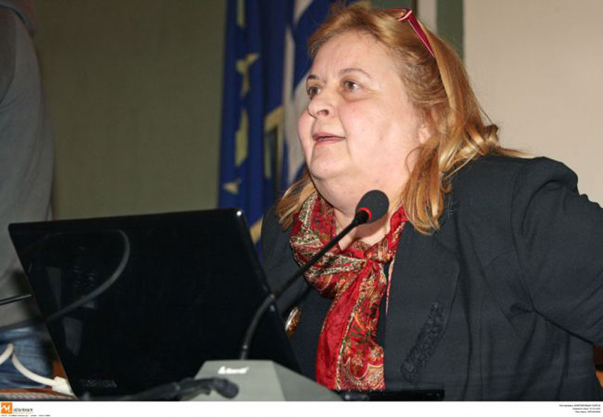 In the lecture, organized by the Friends of the Museum of the Macedonian Struggle, Mrs. Peristeri, recently elected Head of Culture of the Region of Central Macedonia, could not conceal her bitterness about the interrupted excavation and her removal from it.