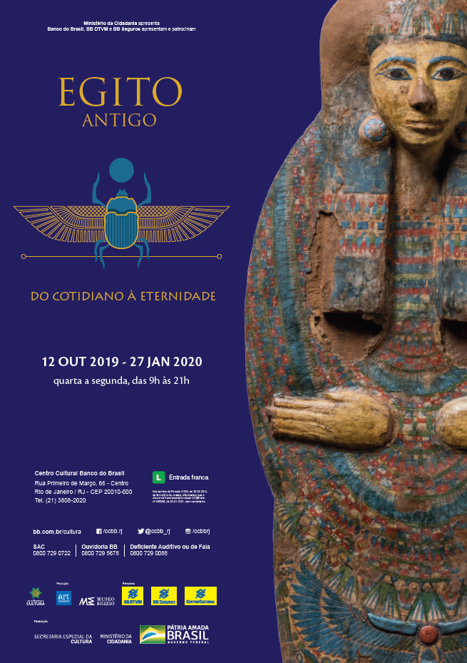 The exhibition opens on October 12, 2019.