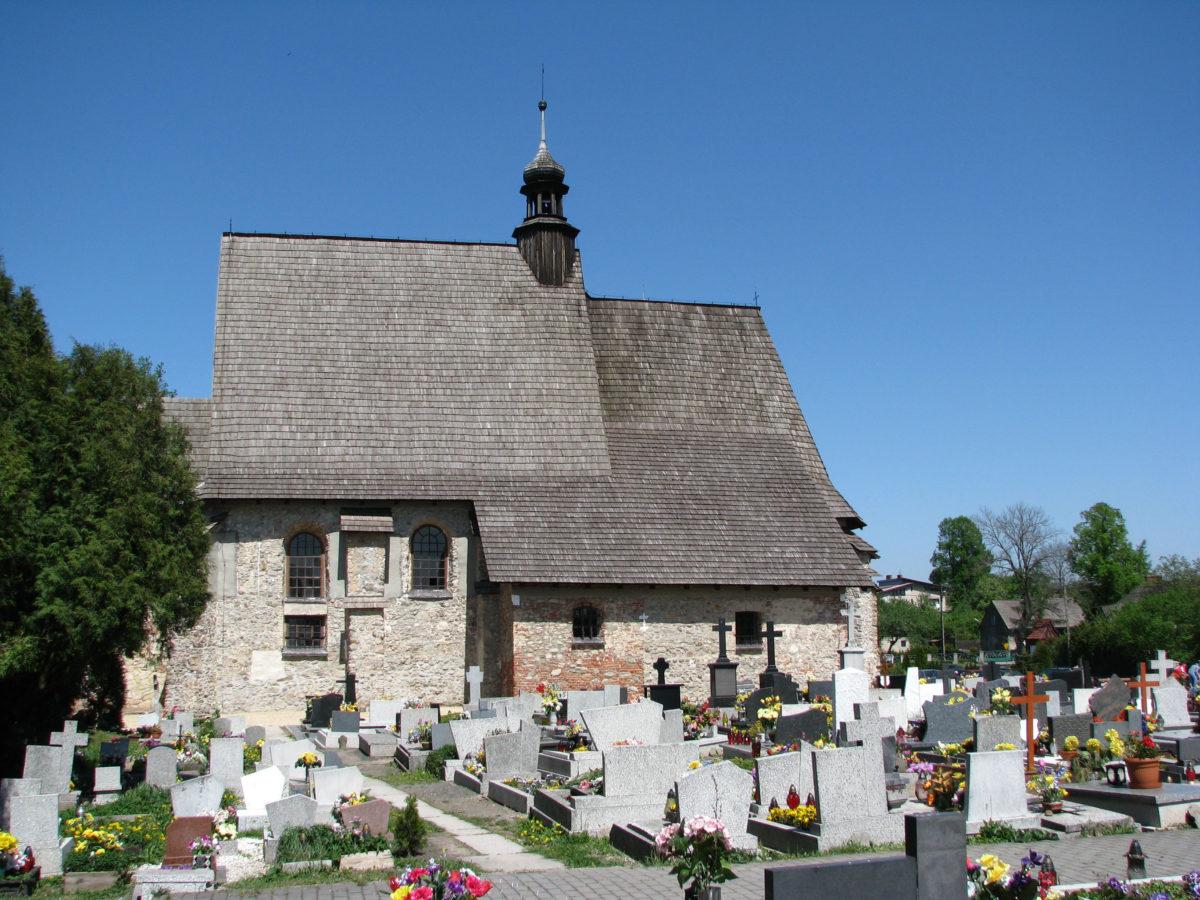 Cemetery in Sadowie.