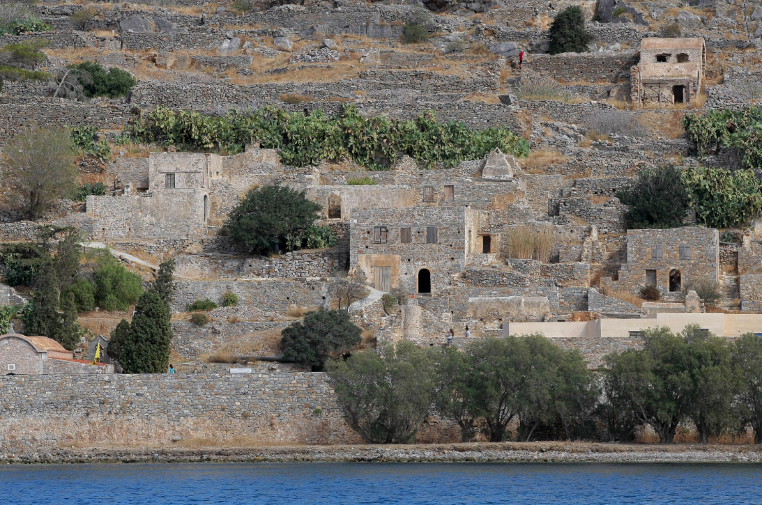 Spinalonga. Photo: AMNA/Stephanos Rapanis