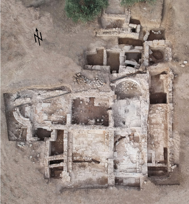 Aerial photograph of the excavation site (photo: MOCAS).