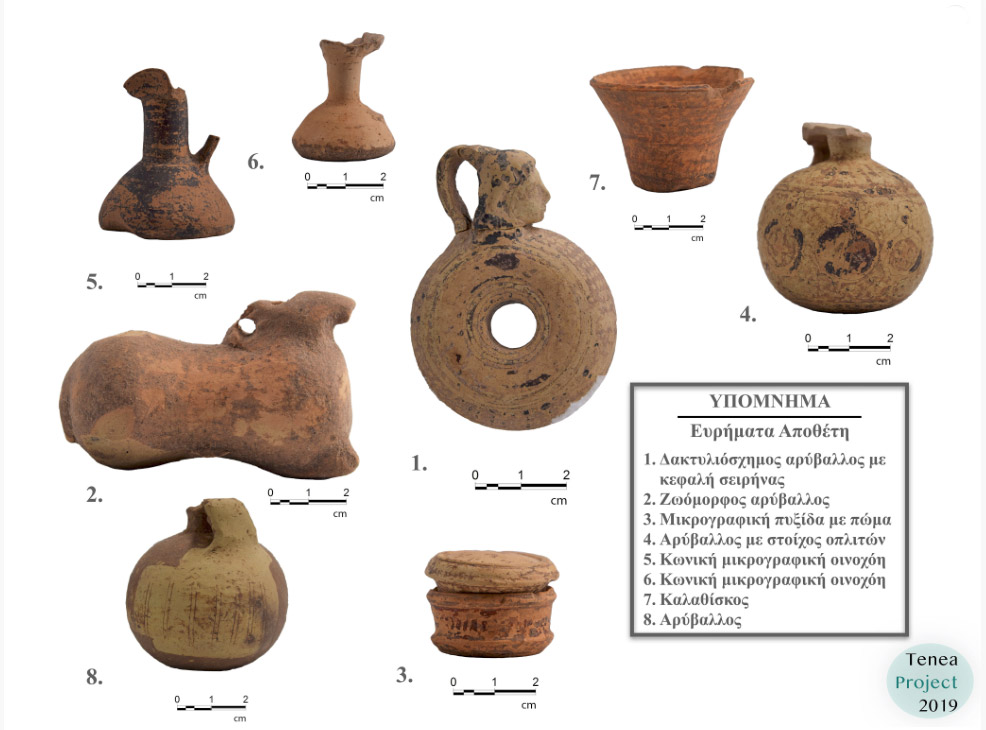 Findings from the excavation (photo: MOCAS).