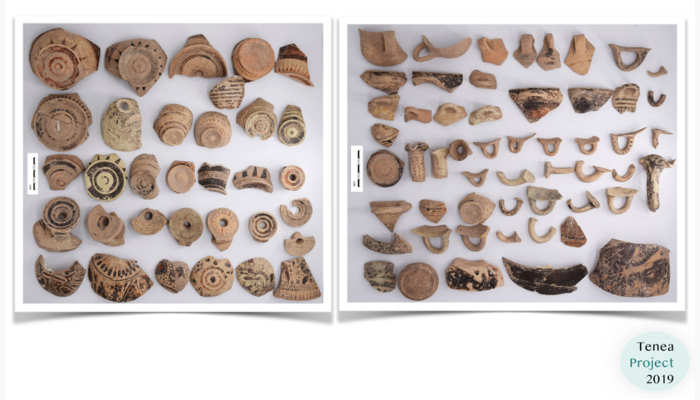 Archaic pottery from the deposit (photo: MOCAS).