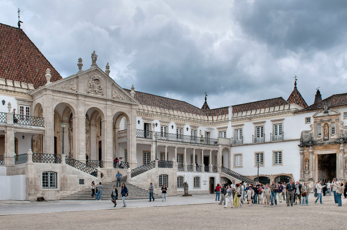 The Coimbra University.