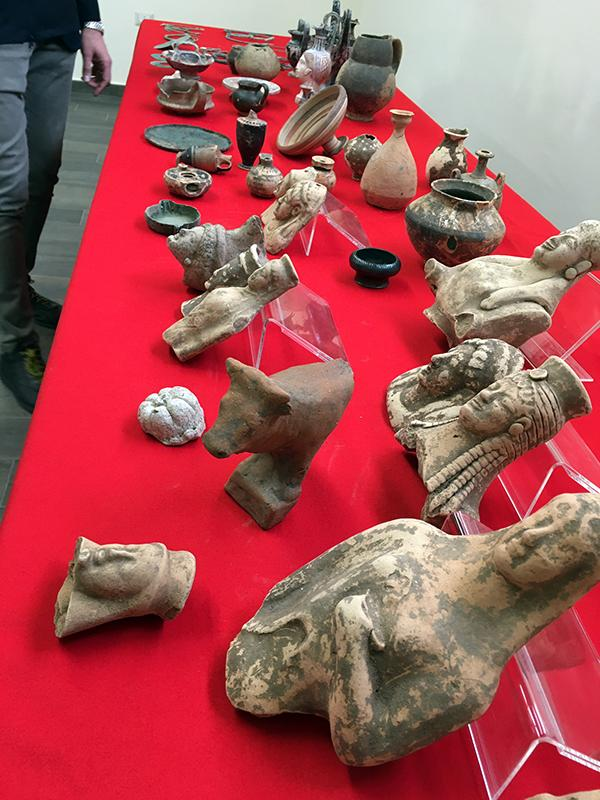 The investigation began in 2017 to fight the looting of archaeological sites in Calabria, southern Italy.